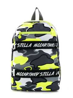 Stella McCartney Kids рюкзак с камуфляжным принтом
