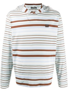 Acne Studios striped long-sleeve shirt