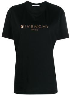 Givenchy футболка с логотипом