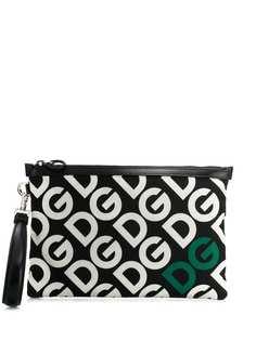 Dolce & Gabbana DG Mania print pouch