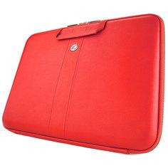 """Кейс для ноутбука Cozistyle Smart Sleeve кожаный для MacBook 15/16"""" Red"""