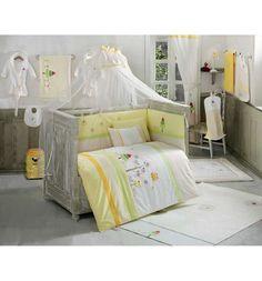Kidboo Балдахин Sunny Day 150 х 450 см, цвет: белый/желтый