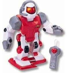 Интерактивная игрушка Keenway с пультом управления красный