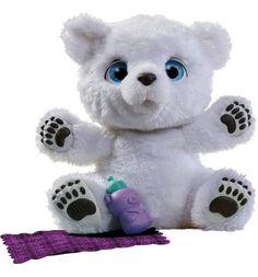 Интерактивная игрушка FurReal Friends Полярный медвежонок 23 см