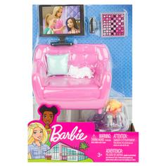 Набор мебели для кукол Barbie Отдых дома Домашний кинотеатр