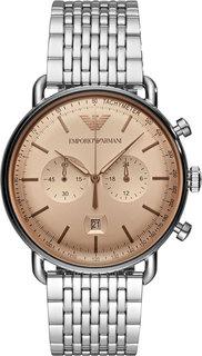 Мужские часы в коллекции Aviator Мужские часы Emporio Armani AR11239