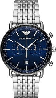 Мужские часы в коллекции Aviator Мужские часы Emporio Armani AR11238