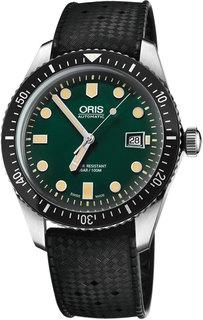 Швейцарские мужские часы в коллекции Divers Мужские часы Oris 733-7720-40-57RS