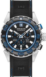 Швейцарские мужские часы в коллекции Aqua Мужские часы Swiss Military Hanowa 06-4324.04.007.23