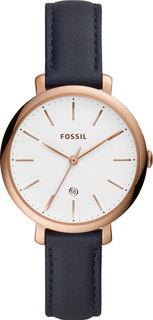 Женские часы в коллекции Jacqueline Женские часы Fossil ES4630