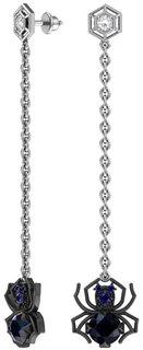 Серебряные серьги Серьги POKROVSKY 6021365-04275