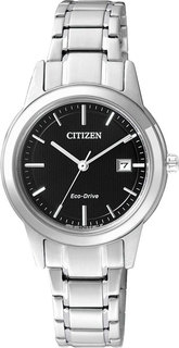 Японские женские часы в коллекции Eco-Drive Женские часы Citizen FE1081-59E