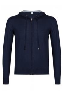 Темно-синяя куртка на молнии Eleventy