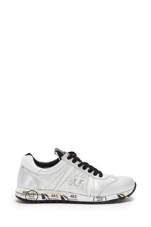 Серебристые кроссовки Lucy Premiata