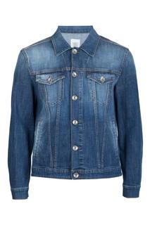 Синяя джинсовая куртка Eleventy