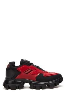 Красно-черные кроссовки Cloudbust Thunder Prada