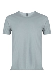 Серая футболка с декором Giorgio Brato