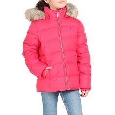 Куртка TOMMY HILFIGER KG0KG04682 розово-красный
