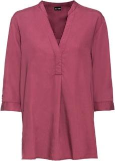 Блузки с длинным рукавом Туника удлиненная с пайетками Bonprix