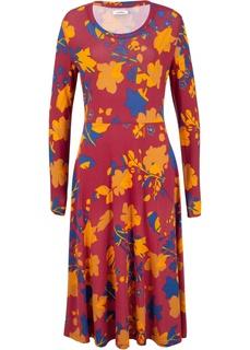 Длинные платья Платье миди из экологичной коллекции Bonprix