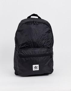 Рюкзак с логотипом и трилистником на кармане adidas Originals - Синий