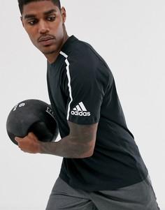 Черная футболка adidas Z.N.E - Черный