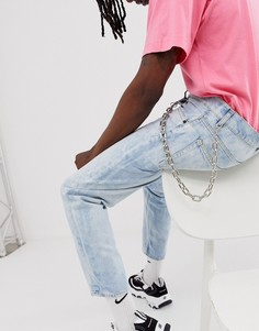 Серебристая массивная цепочка для джинсов Uncommon Souls - Серебряный