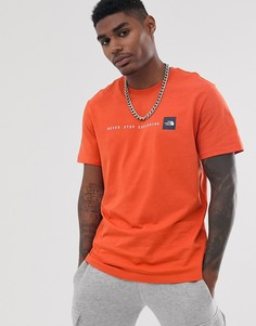 Оранжевая футболка The North Face NSE - Оранжевый