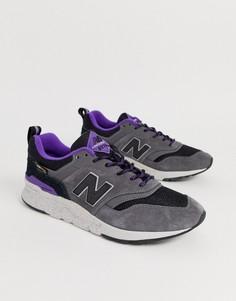 Серые кроссовки New Balance - 997H Cordura - Серый