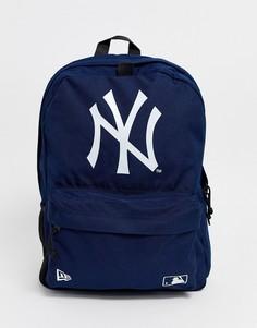 Темно-синий рюкзак с логотипом New Era stadium - Темно-синий