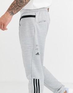 Серые брюки с логотипом adidas performance ID - Серый