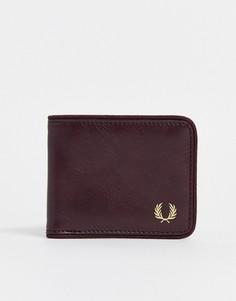 Классический бордовый бумажник Fred Perry - Красный