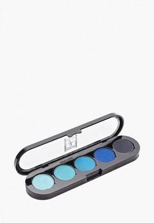 Тени для век Make-up Atelier Paris в палитре из 5 оттенков