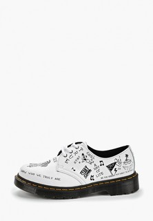 Туфли Dr. Martens 1461 SCRIBBLE - 3 Eye Shoe