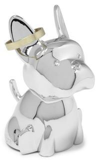 Хранение украшений Umbra ZOOLA Подставка для колец будьдог хром