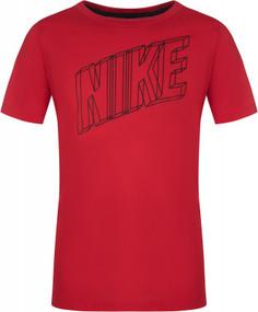 Футболка для мальчиков Nike Breathe, размер 147-158
