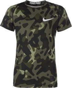 Футболка для мальчиков Nike Pro, размер 158-170