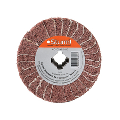 Sturm! AG1014P-9812 щетка, нейлон/шкурка P120, 120x19.5x100mm