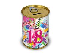Копилка для денег Canned Money Коплю на вечеринку в честь моих 18-ти 415690