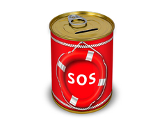Копилка для денег Canned Money SOS 415591