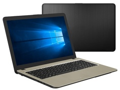Ноутбук ASUS X540BA-GQ386T 90NB0IY1-M05310 (AMD A4-9125 2.3GHz/4096Mb/500Gb/No ODD/AMD Radeon R3/Wi-Fi/Cam/15.6/1366x768/Windows 10 64-bit)