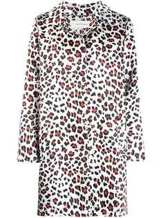 MarquesAlmeida пальто с леопардовым принтом