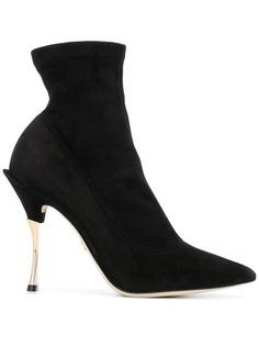 Dolce & Gabbana ботильоны с заостренным носком