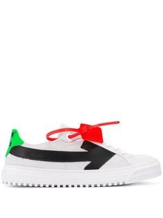 Off-White кроссовки Arrow с принтом