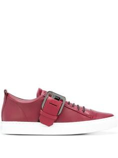 Lanvin buckled low top sneakers