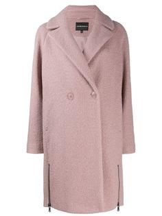 Emporio Armani двубортное пальто