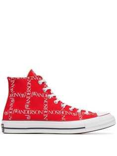 Converse x JW Anderson кеды с принтом логотипа