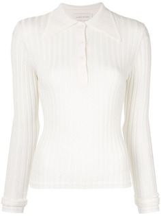 Karen Walker рубашка-поло с длинными рукавами
