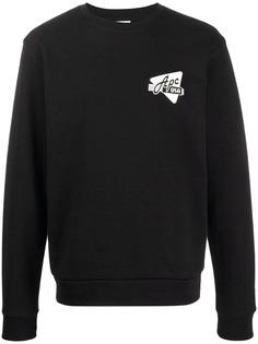 A.P.C. свитер с принтом