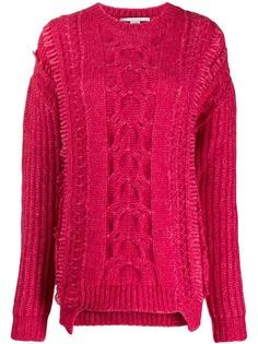 Stella McCartney свитер фактурной вязки